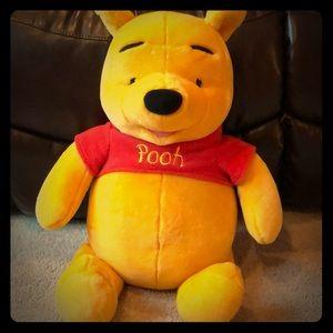 EUC - Winnie the Pooh Bear that talks - 21 inches